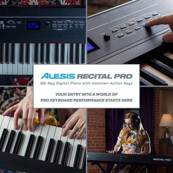 Alesis Pro 88 piano hammer action