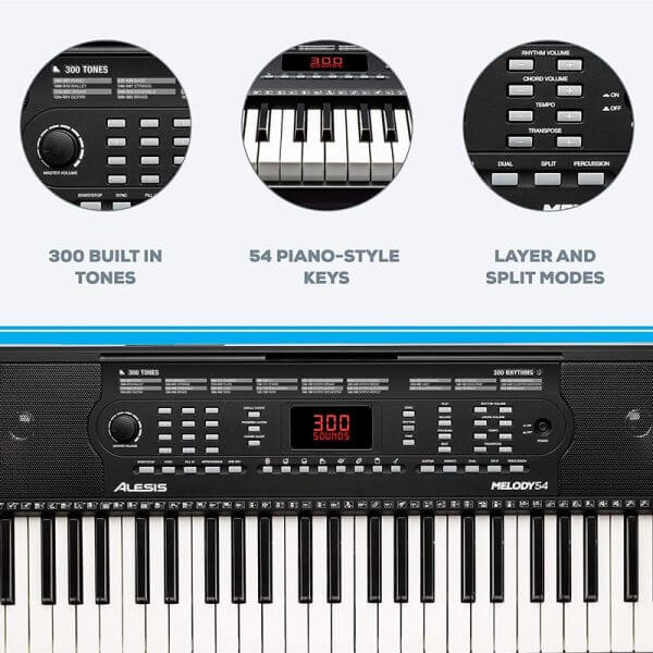 Alesis Melody 54 keyboard features