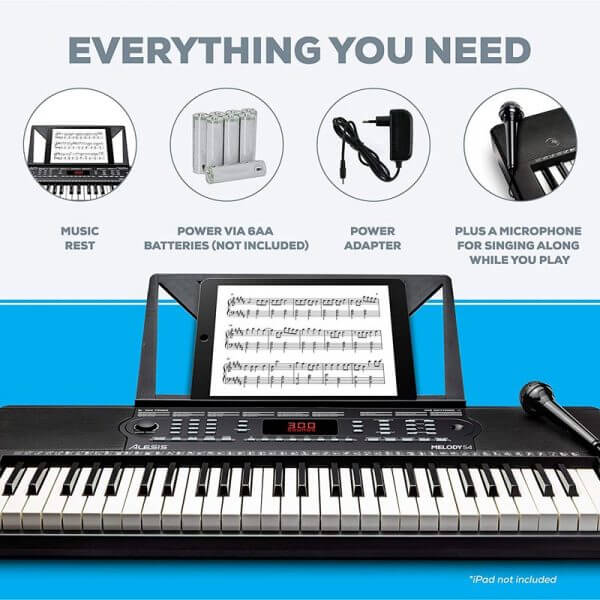 Alesis Melody 54 - package features