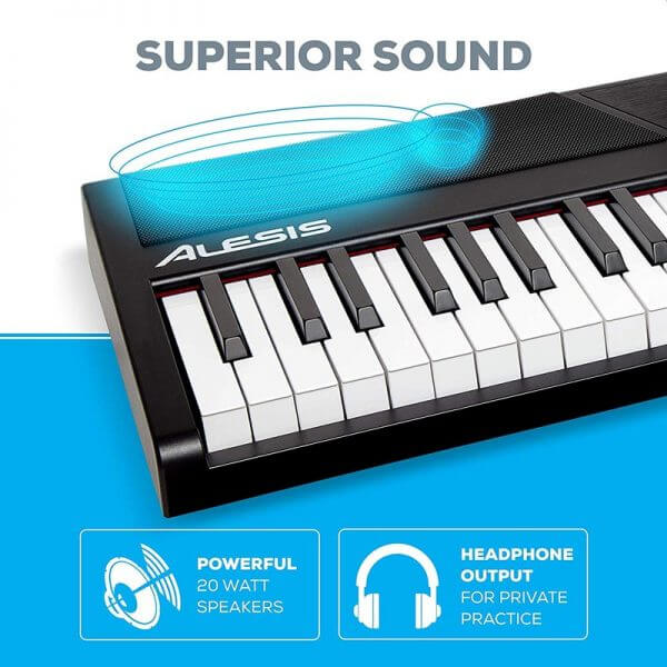 Alesis Recital – 88 Key Digital Electric Piano - superior sound