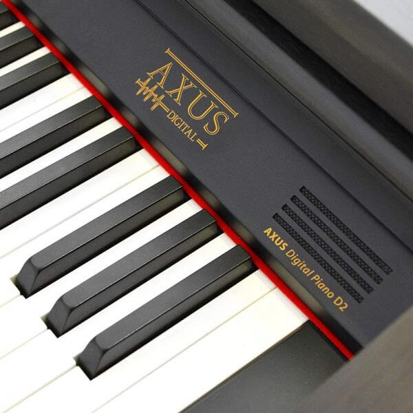 Axus Digital AXD2 Digital Piano - close up view