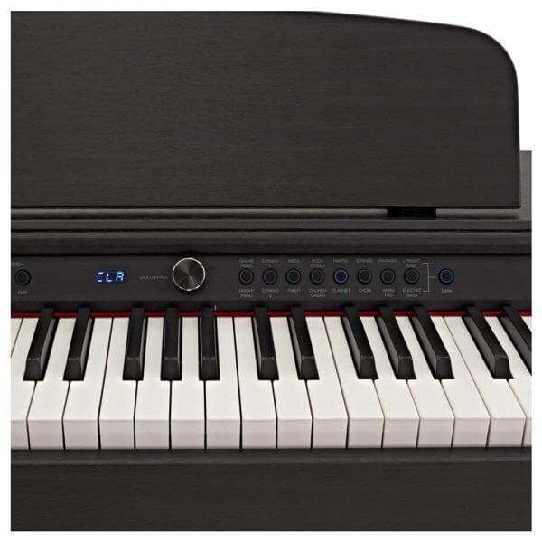 DP-6 Digital Piano - view of keys