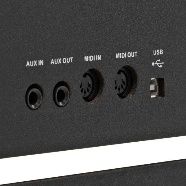 DP-70U Upright Digital Piano - inputs and outputs