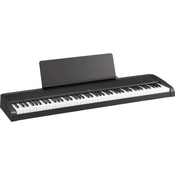 Korg B2 88 Key Digital Piano - sideways view