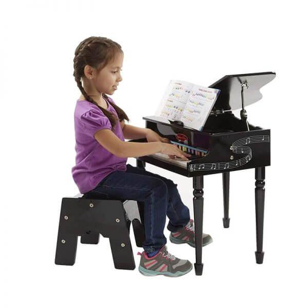 Melissa & Doug 11315 Grand Piano - usage pic