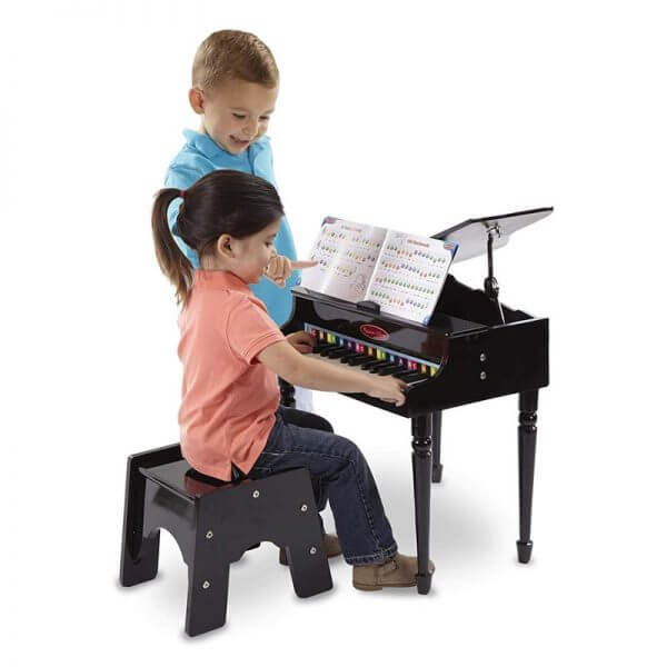 Melissa & Doug 11315 Grand Piano - usage picture