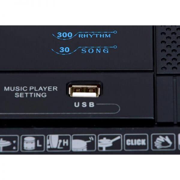 Mylek Portable Electronic Keyboard - USB input