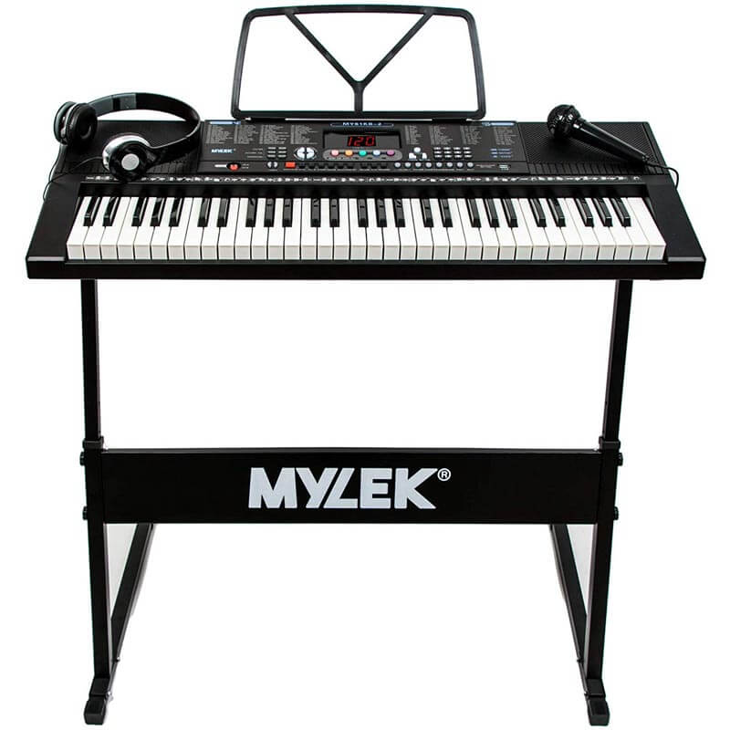 Mylek 61 Key Portable Electronic Musical Teaching Piano Music Keyboard
