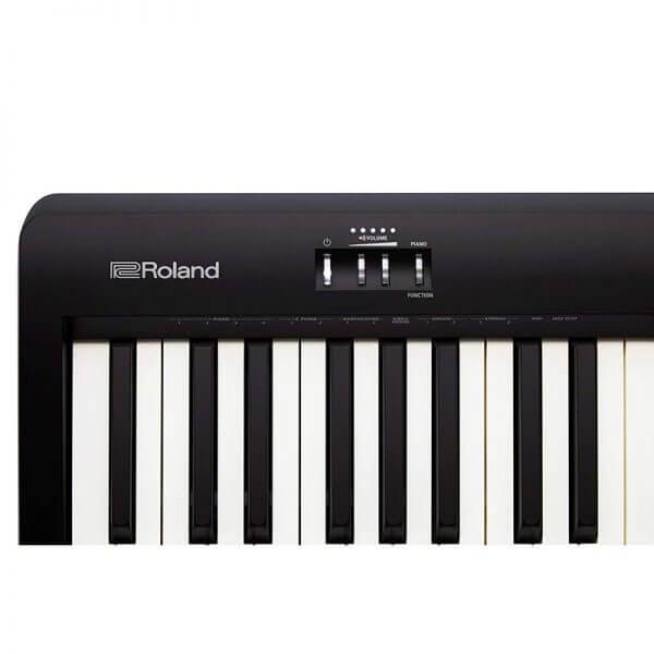 ROLAND FP-10 Digital Piano - close up