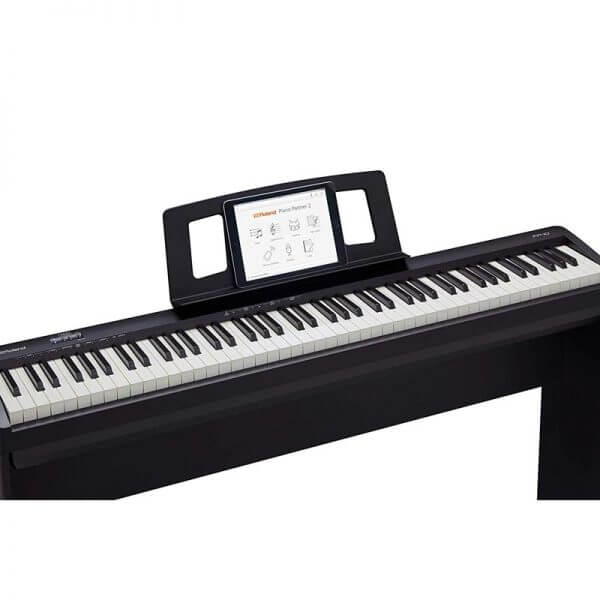 ROLAND FP-10 Digital Piano - above side view