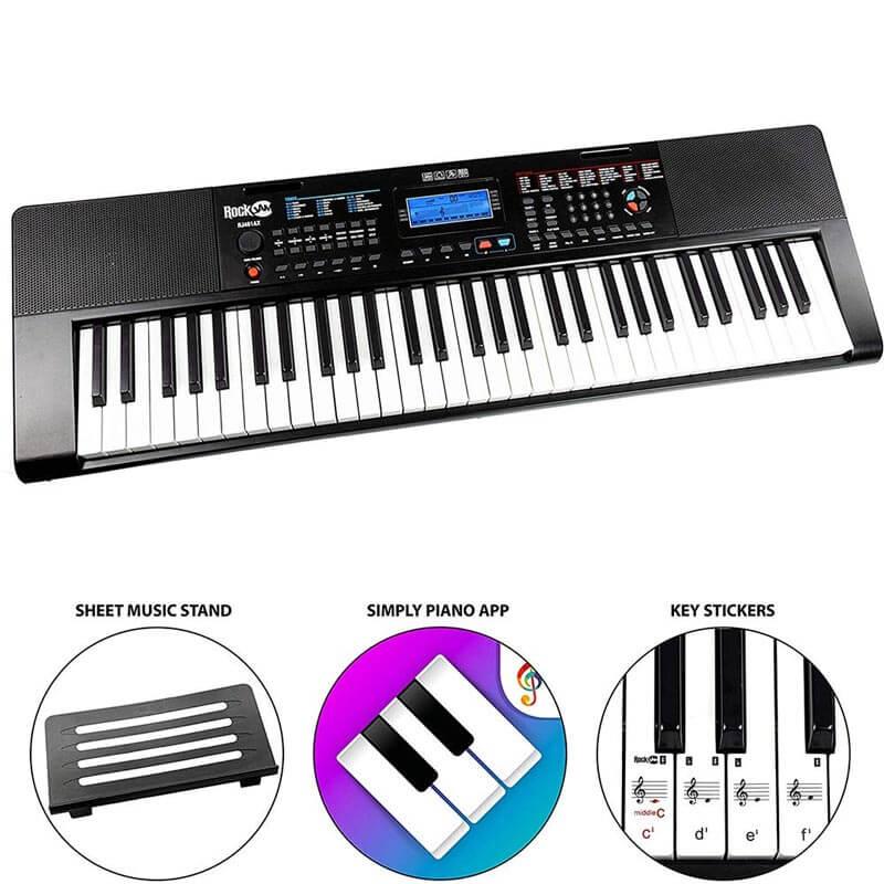 Mk 2000 Portable Keyboard By Gear4music The Keyboard Piano Shop