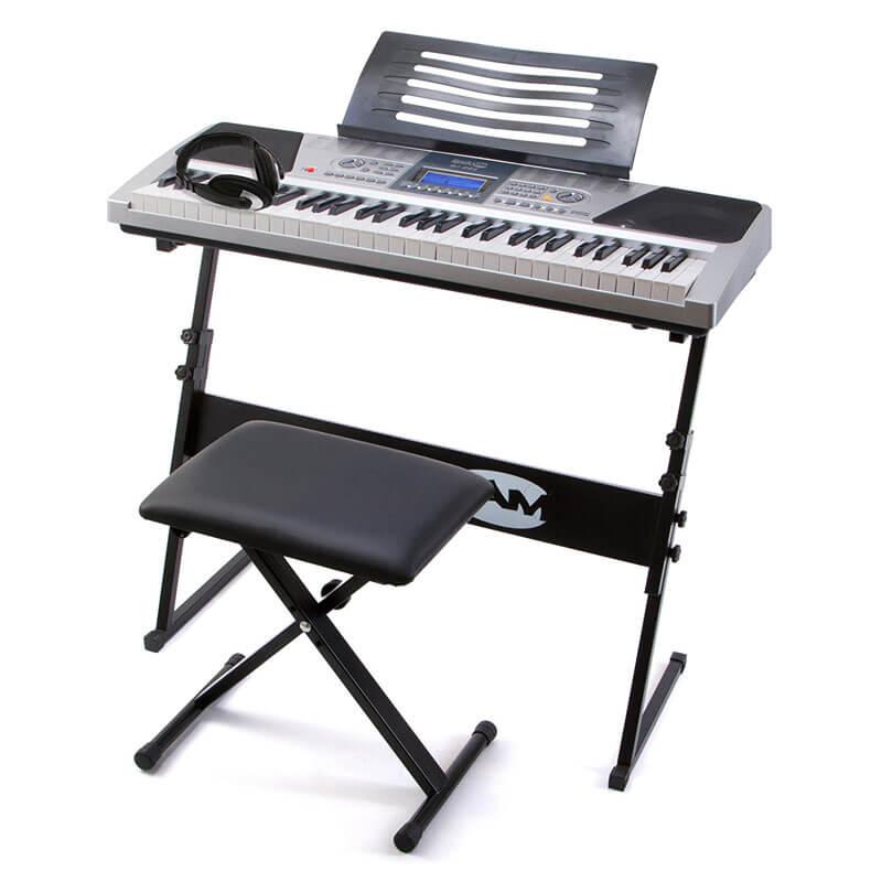 RockJam RJ661 61 Key Teaching Piano Keyboard