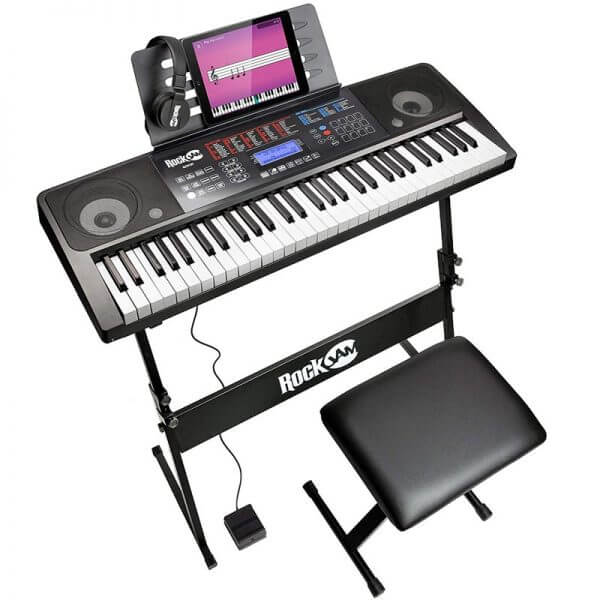 RockJam RJ761-SK Key Electronic Interactive Teaching Keyboard