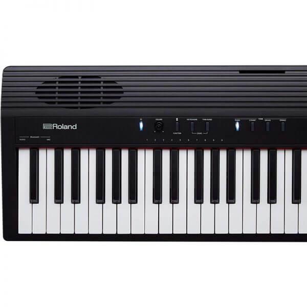 Roland GO-88P GO: PIANO 88 Digital Piano - close up left