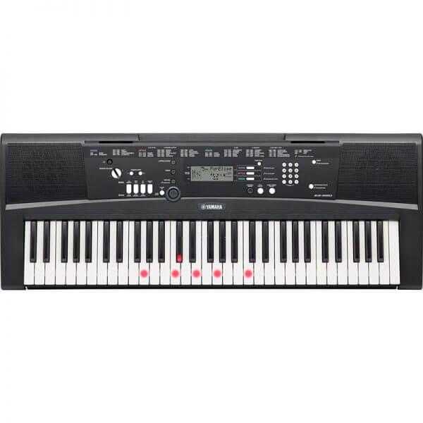 Yamaha EZ-220 Portable Keyboard with 61 Full-Size Lighted keys