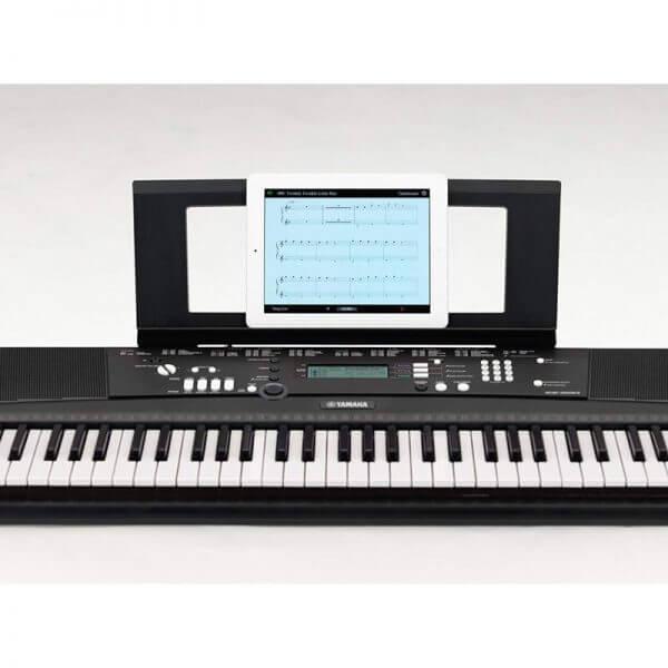 Yamaha EZ-220 Portable Keyboard - front view
