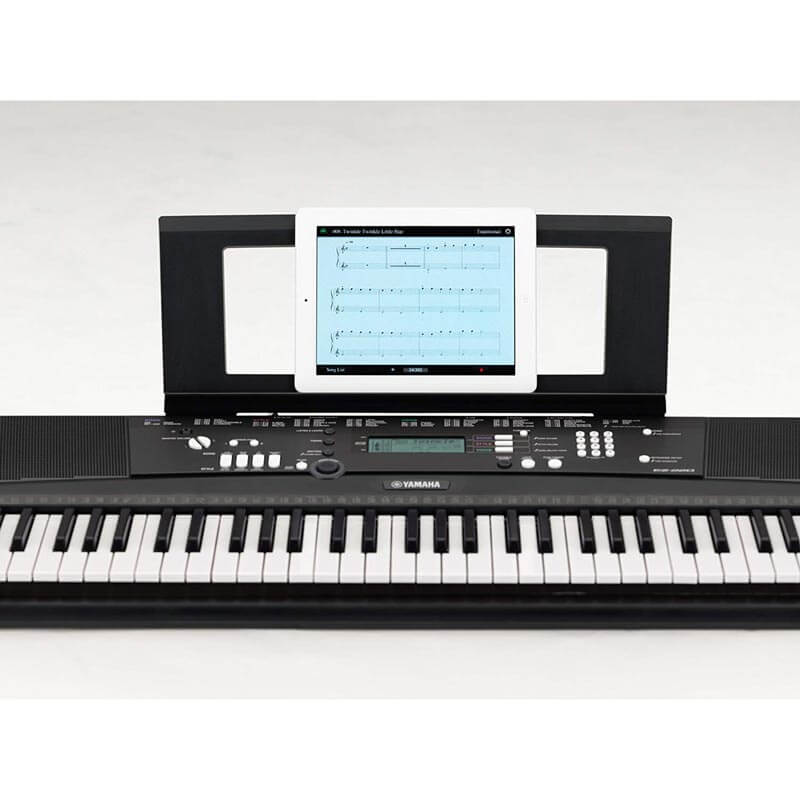 yamaha ez 220 portable keyboard 61 keys the keyboard piano shop. Black Bedroom Furniture Sets. Home Design Ideas