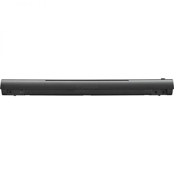 Yamaha NP-12 Piaggero Slimline Home Keyboard - rear view
