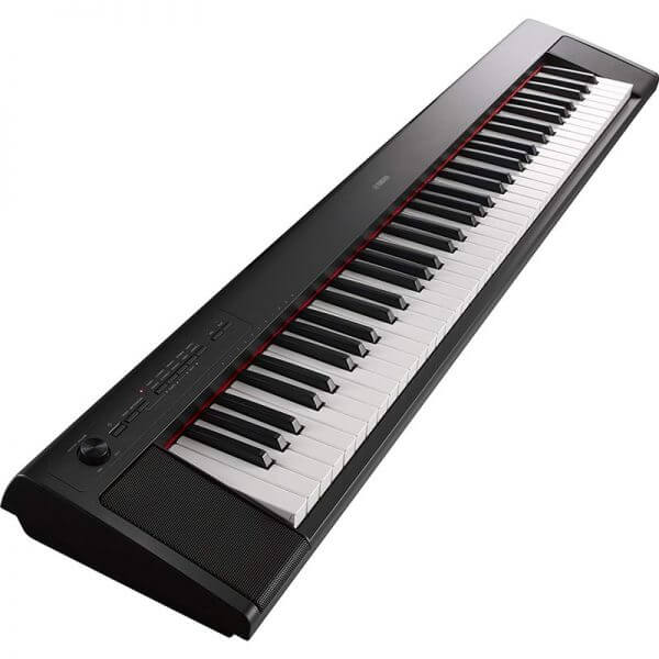 Yamaha NP32 Digital Piano - side view